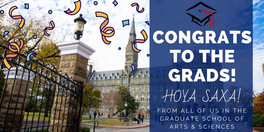 Congratulations to the Graduates!